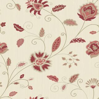 Crown Indian Quilt Red M0159 Wallpaper