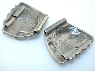 Vintage Indian Sterling Silver Watch Band Pieces