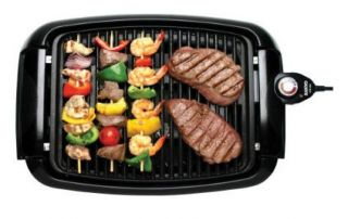 New in Box Sanyo Home Griller Appliance Electric Grill Nonstick
