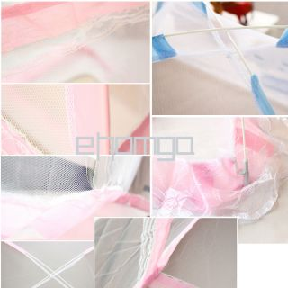 Child Cot Bed Foldable Fold Mosquito Net Tent 140 90 95 JY MN02