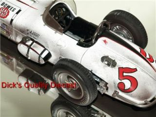 1960 indy 5 a j foyt bowes seal fast spcl laydown genuine end of race
