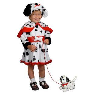 Toddler Deluxe Dalmatian Dog Girls Halloween Costume