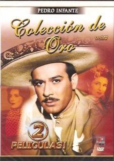 Pedro Infante Coleccion de Oro Vol 3 2 Peliculas