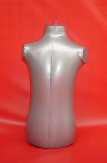 PVC Child Kids Half Body Inflatable Mannequin Dummy Torso Model