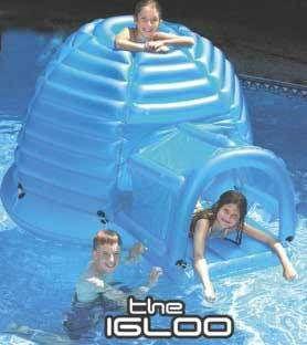 Igloo Habitat Floating Inflatable Island Raft Kids Young Adults