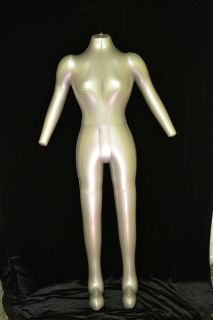 Female Inflatable Mannequin Full Size Body Retail Display Ships Same