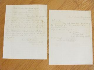 Colonel Ruth Laura Ingalls Wilder Family Friend Letters Iowa 1874