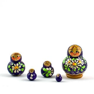 5pcs 1 75 Inna Russian Nesting Dolls