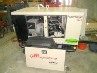 2009 Ingersoll Rand Power Source G 10 Generator 15 Hrs