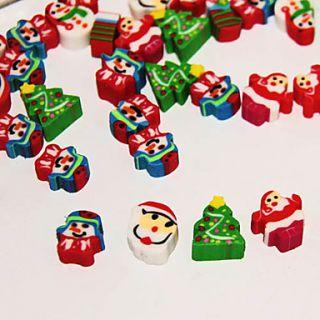 EUR € 3.21   doces caixa tema Natal conjunto de mini apagador, Frete