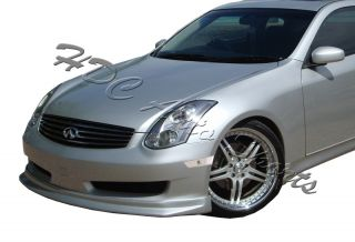 03 07 Infiniti G35 Coupe JDM Chrome Housing Front Bumper Side Marker