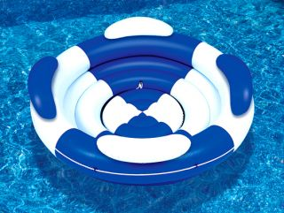 Swimming Pool Inflatable Sofa Island Super Lounge Float Toy