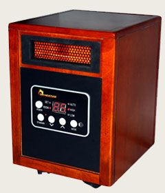 Dr Heater DR968 1500W Infrared Portable Space Heater