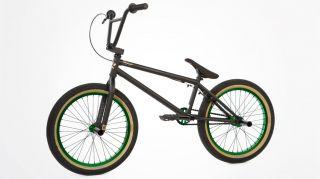 2013 Fit Justin Inman 1 Black Green Complete Bike Signature s M Cult