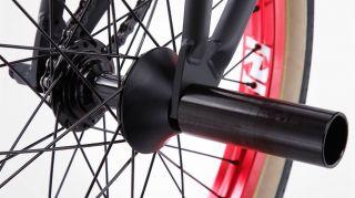 2013 Fit Justin Inman 3 Primer Black Red LSD Signature Bike BMX s M