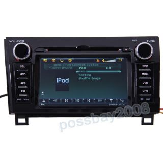 Car GPS Navigation Bluetooth iPod Radio DVB T TV DVD Player