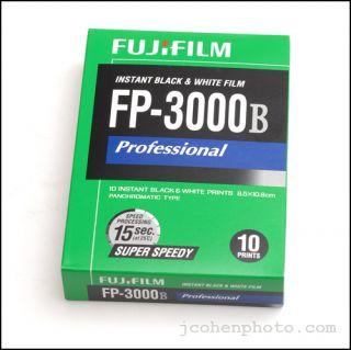 Fuji FP 3000B Polaroid Medium Format Instant Film