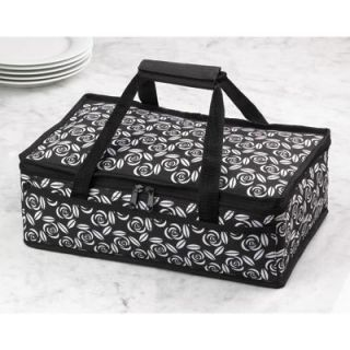CASSEROLE TRAVEL BAG CARRYING CASE INSULATED POTLUCK PICNIC PARTY FOOD