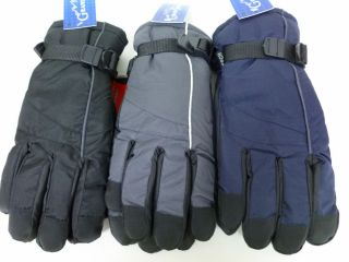 Mens Men Snowboard Ski Winter Snow Gloves Insulated Windproof 63127
