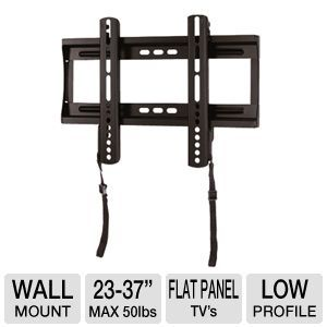Interion Low Profile TV Wall Mount 23 37 Panels