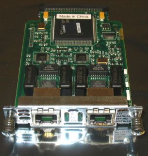 Genuine Cisco VWIC 2MFT T1 Voice Wan Interface Card