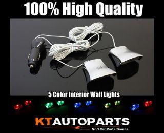 COLOR INTERIOR LED LIGHT KIT DECORATE LAMP SIDE UNDER SEAT HI POWER
