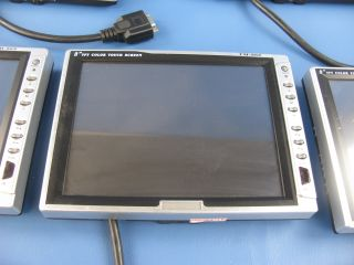 Innovatek TM 868 8 TFT Color Touch Screen Display Lot of 5