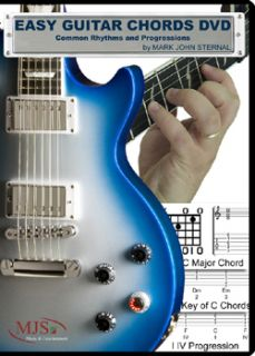 Easy Guitar Chords DVD Instructional DVD by Mark John Sternal