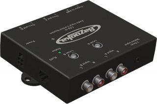 Marine Audio Boat Multi Zone Stereo 2 RCA Input Controller Box