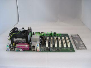 Intel D845EBG2 Socket 478 Motherboard Pentium 4 P4 2 40GHz CPU Fan I O