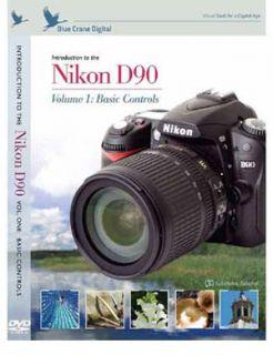 Blue Crane Nikon D90 Training Video Instructional DVD