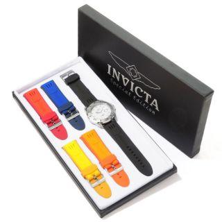 Invicta 0063 Mens Pro Diver Watch with 5 Straps