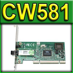 Dell Avago Fibre PCI NIC Network Interface Card CW581