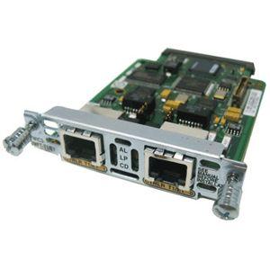 of 4 Cisco Two Port T1 E1 Multiflex Voice Wan Interface Cards