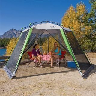 Coleman 15x13 Outdoor Instant Canopy Screen House Camping Screenhouse