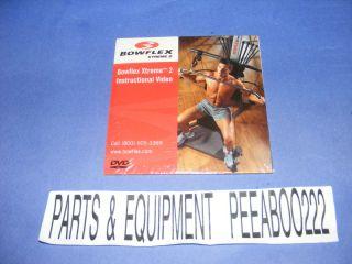Bowflex Xtreme 2 Instructional DVD Brand New