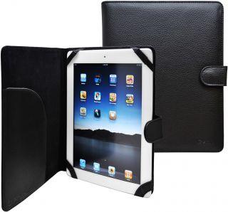 Slim Folio Leather Case for Apple iPad 3 Black