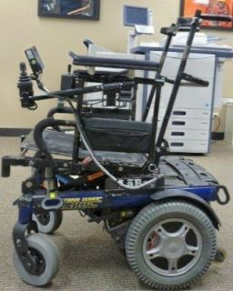 Invacare Storm series Arrow electric wheelchair good cond parts only