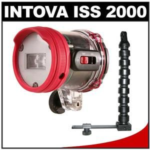 Intova ISS 2000 Underwater Digital Camera Slave Flash + Arm & Mounting