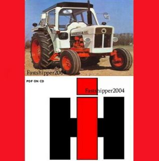 International Harvester Tractor 484 584 684 784 884 H 84 Operator