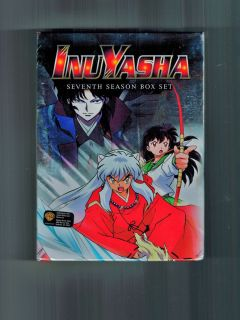 InuYasha Complete Season 7 Brand New 4 Disc Anime Box Set