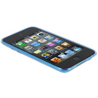 Rubber Skin Case Cover Accessories for iPod Touch 4th Generation 4G