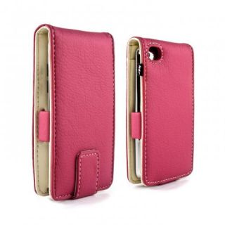 "4th Gen 4G iPod Touch Case €"" Pink PU Leather Style Cover Lifetime"