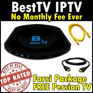 Besttv Farsi Persian Channels IPTV Mediabox Best TV Free HDMI No