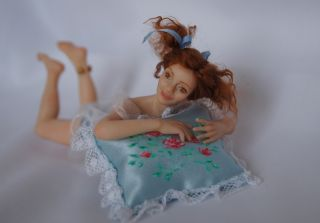 Doll Sweet Dreams 1 12 Dollhouse Miniatures by Irene Setyaeva