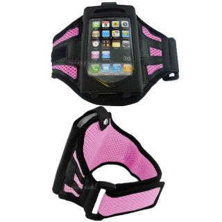 fit armband for  ipod touch itouch, iphone 3g 3gs 4s (cute pink