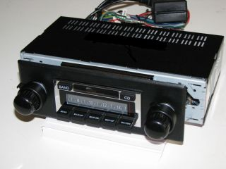 Look Style AM FM iPod MP3 USB Stereo Radio fits Triumph TR6 1969 76