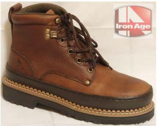Iron Age 6 Sport Work Steel Toe Boot Style 742