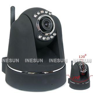 CCTV Wireless WiFi Wired Pan Tilt IR Day Night IP Camera