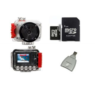 Intova SP1 Sport HD Video Underwater Digital Camera with Housing +32GB